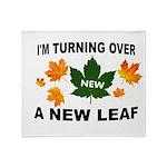 NEW LEAF Throw Blanket