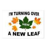 NEW LEAF Postcards (Package of 8)