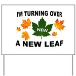 NEW LEAF Yard Sign