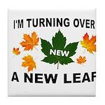 NEW LEAF Tile Coaster