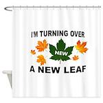 NEW LEAF Shower Curtain