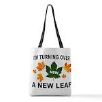 NEW LEAF Polyester Tote Bag