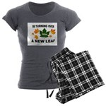 NEW LEAF Women's Charcoal Pajamas