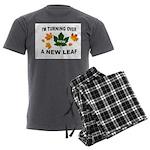 NEW LEAF Men's Charcoal Pajamas