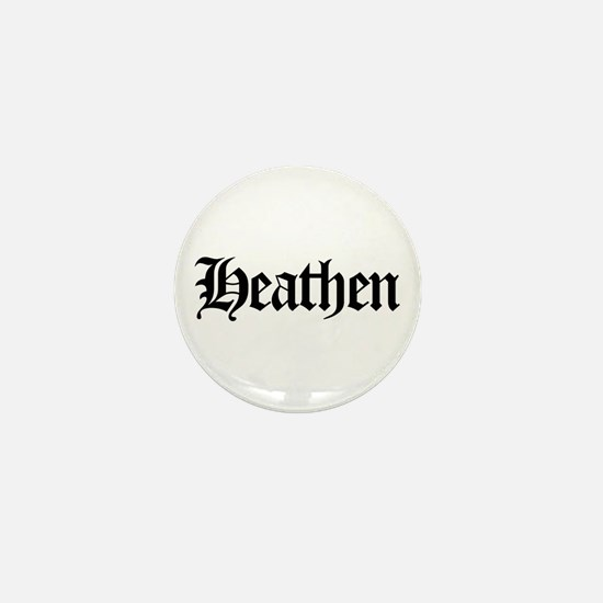 Heathen Mini Button