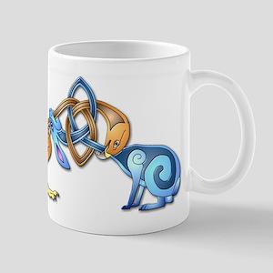 Celtic Bird & Rabbit Mug