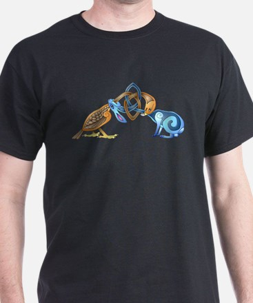 Celtic Bird & Rabbit T-Shirt