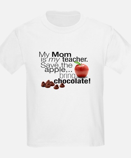 teacher%20mom%20chocolate[1] T-Shirt