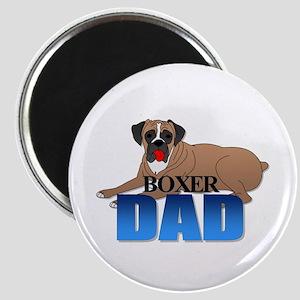 Boxer Dog Dad Magnet