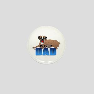 Boxer Dog Dad Mini Button