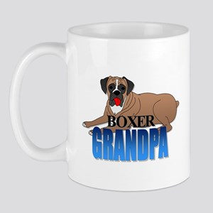 Boxer Grandpa Mug