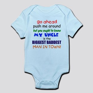 Baddest Uncle Infant Bodysuit
