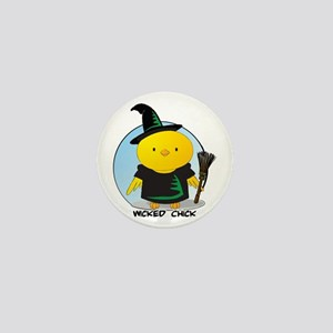 Wicked Chick Mini Button