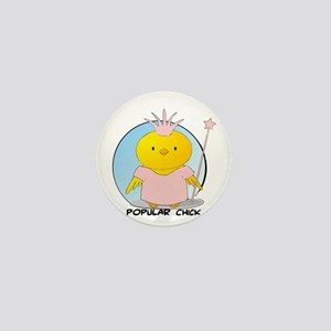 Popular Chick Mini Button