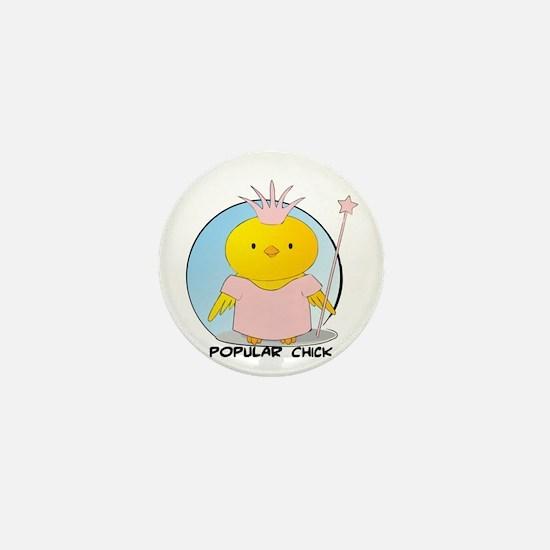 Popular Chick Mini Button