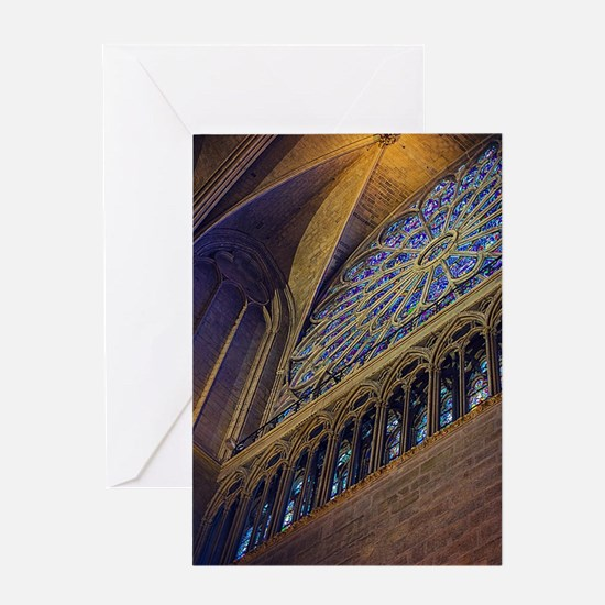 Unique Cathedral Greeting Card