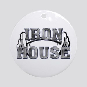 Iron house Ornament (Round)