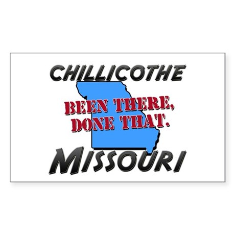 chillicothe missouri - been there, done that Stick