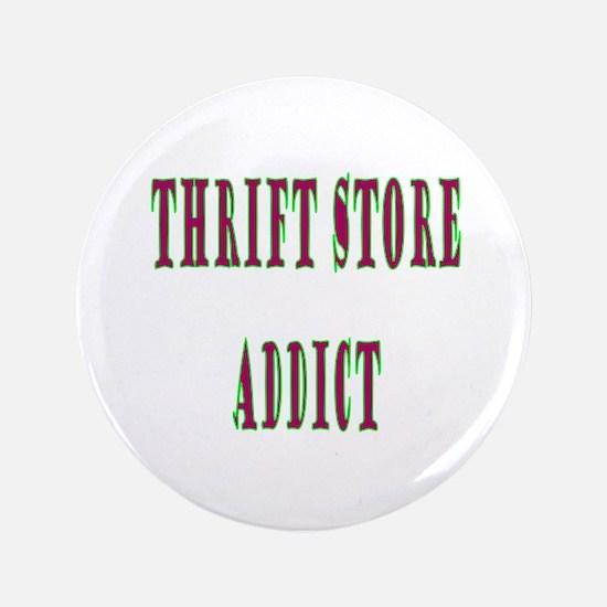 "Thrift Store Addict 3.5"" Button (100 pack)"