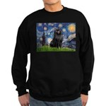 Starry / Schipperke #2 Sweatshirt (dark)