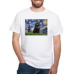 Starry / Schipperke #2 White T-Shirt