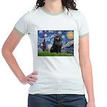 Starry / Schipperke #2 Jr. Ringer T-Shirt
