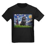 Starry / Schipperke #2 Kids Dark T-Shirt
