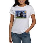 Starry / Schipperke #2 Women's T-Shirt
