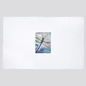 Dragonfly! Nature art! 4' x 6' Rug