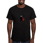 Id Men's Fitted T-Shirt (dark)