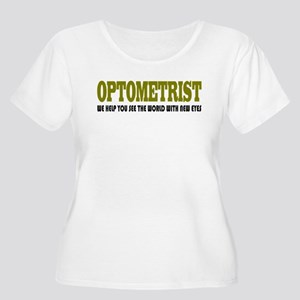 Funny Optometrist Women's Plus Size Scoop Neck T-S