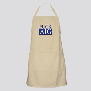 Fuck AIG BBQ Apron