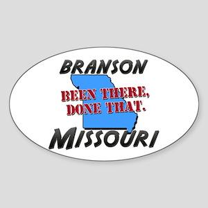 branson missouri - been there, done that Sticker (