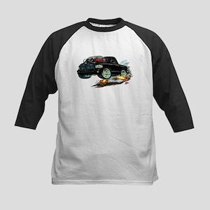 Dodge SRT-10 Black Truck Kids Baseball Jersey