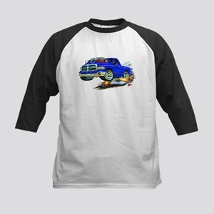 Dodge SRT-10 Blue Truck Kids Baseball Jersey