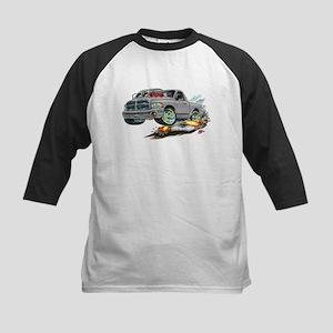Dodge SRT-10 Grey Truck Kids Baseball Jersey