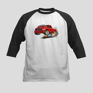 Dodge SRT-10 Red Truck Kids Baseball Jersey