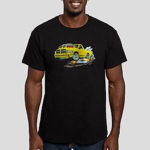 Dodge SRT-10 Yellow Truck Men's Fitted T-Shirt (da