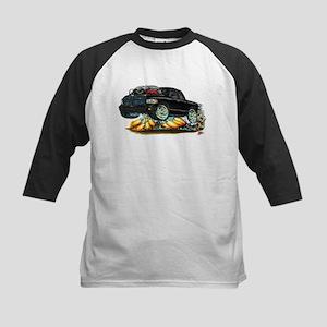Dodge SRT-10 Black Dual Cab Kids Baseball Jersey