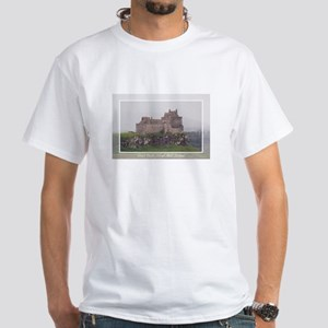 Duart Castle White T-Shirt