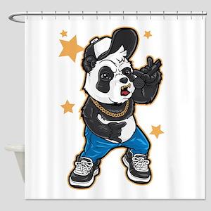 Panda Urban Rocker Shower Curtain