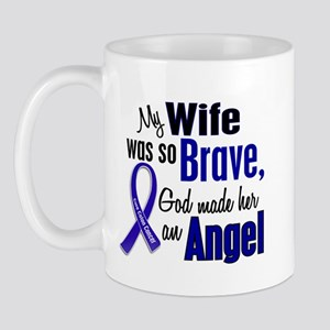 Angel 1 WIFE Colon Cancer Mug