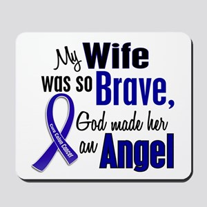 Angel 1 WIFE Colon Cancer Mousepad