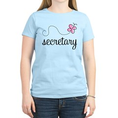 Pretty Secretary Women's Light T-Shirt