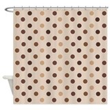 Beige Shower Curtains