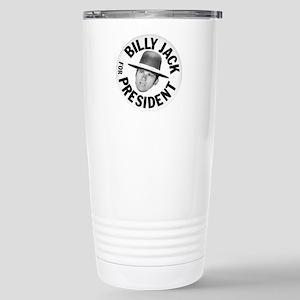 Billy Jack For President Stainless Steel Travel Mu