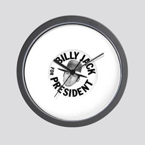 Billy Jack For President Wall Clock