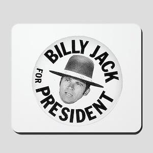 Billy Jack For President Mousepad