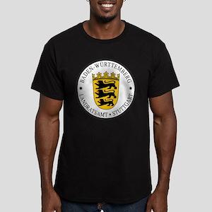 Stuttgart Men's Fitted T-Shirt (dark)
