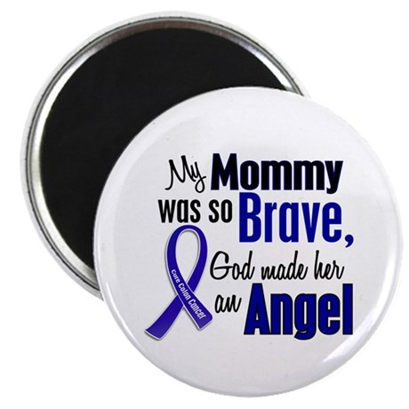 "Angel 1 MOMMY Colon Cancer 2.25"" Magnet (10 pack)"